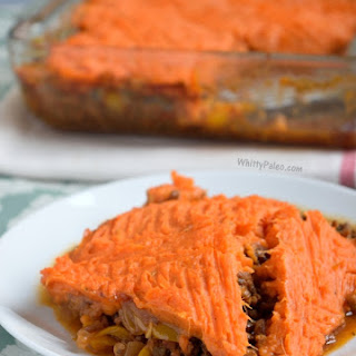 Paleo Sweet Potato Cottage Pie
