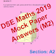DSE Maths Mock Paper Answer 2019 (m2)-Pap 1 Sec A2 for PC-Windows 7,8,10 and Mac
