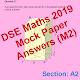 DSE Maths Mock Paper Answer 2019 (m2)-Pap 1 Sec A2 APK