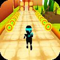 Temple ninja run 3D icon