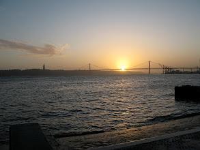Photo: sunset over lisbon