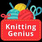 Knitting Genius - Free Patterns to learn Knitting icon