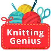 Knitting Genius - Free Patterns & Row Counter