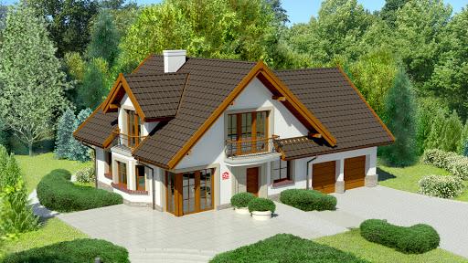 projekt Dom przy Cyprysowej 15 S1