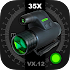 Military Binoculars/Night Mode/Compass Camera1.6