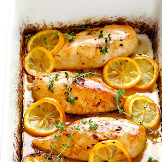 Baked Lemon Chicken.