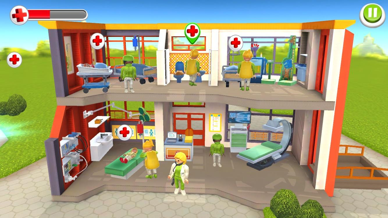 playmobil children 39 s hospital android apps on google play. Black Bedroom Furniture Sets. Home Design Ideas