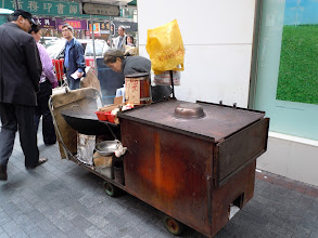 Photo: The chestnuts roasting on an open fire cart that we've been seeing >30 years