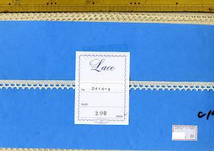 Photo: №2415-1-108 綿100%:トーションキナリ:巾10mm