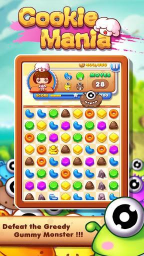 Cookie Mania - Match-3 Sweet Game 2.5.8 screenshots 2