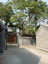Photo: Beijing - next to Prince Gong's mansion in Shichahai area, quieter small hutong streets where occasionally run big convoy of rickshaws with lazy (mostly chinese) tourists