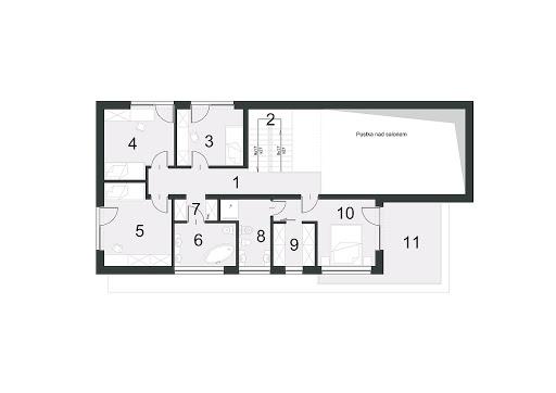 Zorganizowany D14 - Rzut piętra