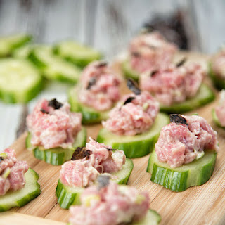 Tuna Tartare Bites