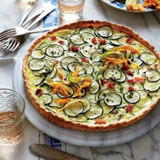 Zucchini and Goat Cheese Quiche (Quiche de Courgettes au Chèvre)