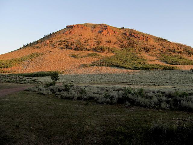 Geyser Peak at sunrise