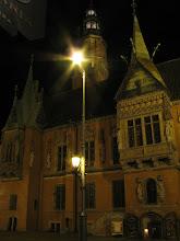 Photo: Wrocławski rynek nocą