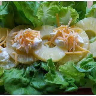 Old School Pineapple Salad.