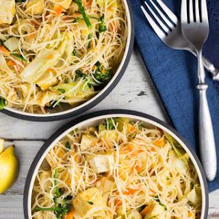 Vegetable Pancit (Vegan, Gluten Free)