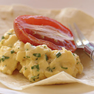 Herby Scrambled Egg Breakfast Wraps