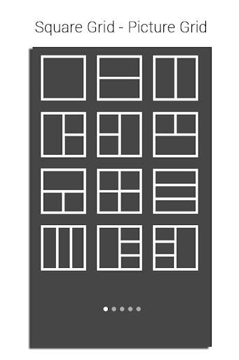 Square Grid - Picture Grid
