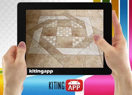Návrh keramické podlahy - náhled