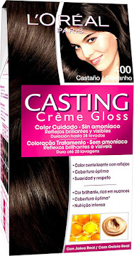 Cating Tinte Creme Gloss   400 Castaño Natural Sin Amoniaco x45gr.