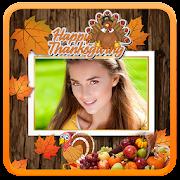 Happy Thanksgiving Photo Frame icon