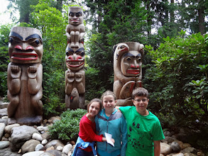 Photo: The first day in Vancouver we went to Capilano Suspension bridge