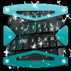 ブラック角度 Keyboard テーマ icon