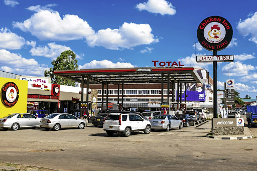 A unit of France's Total in Harare. Picture: BLOOMBERG