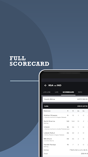 Cricket Fast Live Line screenshots 2