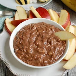 5 Ingredient Chocolate Banana Dip