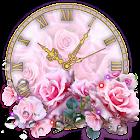 Reloj de Rosas Fondos Pantalla Animados icon