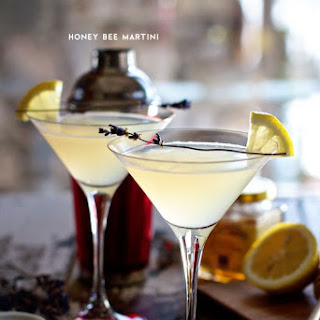 Honey Bee Martini.