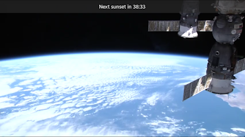 Screenshot of ISS HD Live Free (Earth Cam)