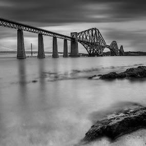 by Andrew Percival - Buildings & Architecture Bridges & Suspended Structures ( water, scotland, nd, long exposure, bridge, nikon, landscape, photography )