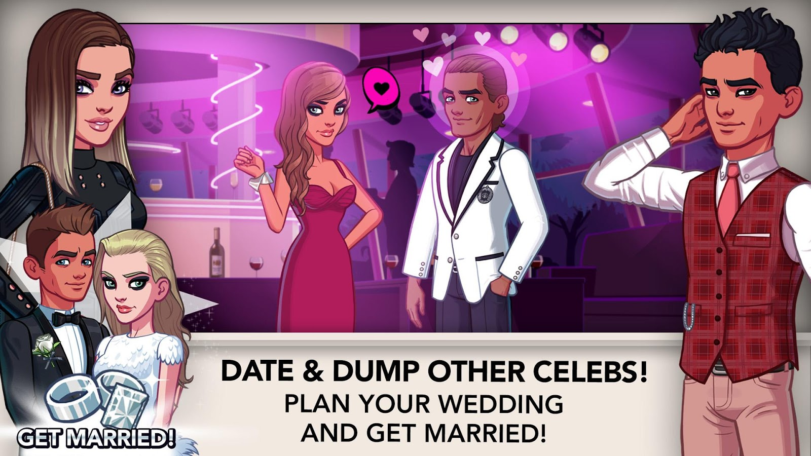 dating on kim kardashian app 'kim kardashian: hollywood' game easter eggs and cheats  while you're  working on any kind of gig or date, some actions will have a higher.