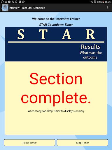 Interview STAR Timer Technique screenshot 7