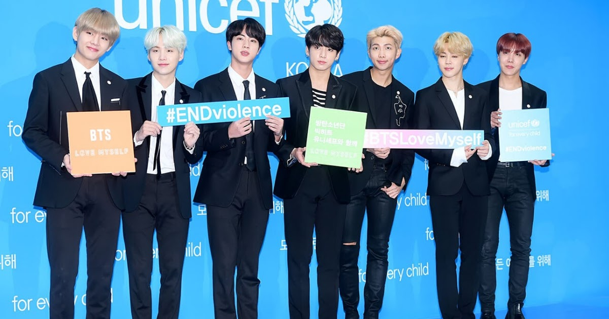 Bts Sweeps Yet Another Award Into The Bag This Time For Creating A Positive Influence On The World Koreaboo