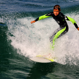 Graine de champion by Gérard CHATENET - Sports & Fitness Surfing
