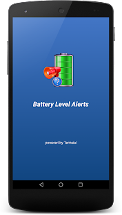 Battery Info / Level Audio Alerts - techsial