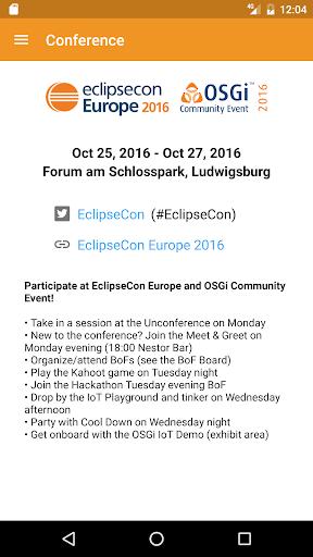 玩免費遊戲APP|下載EclipseCon Europe app不用錢|硬是要APP