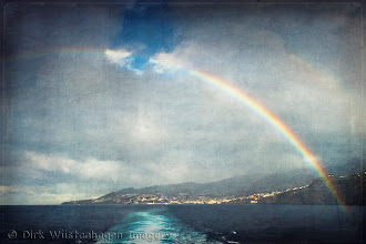 Photo: Rainbow over Madeira  NEW blog post - from fountain to texture - http://wuestenhagenimagery.blogspot.de/2013/04/making-of-texture-ii.html
