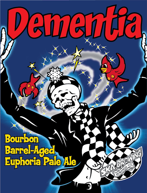 Logo of Ska Dementia: Bourbon Barrel Aged Euphoria Pale Ale