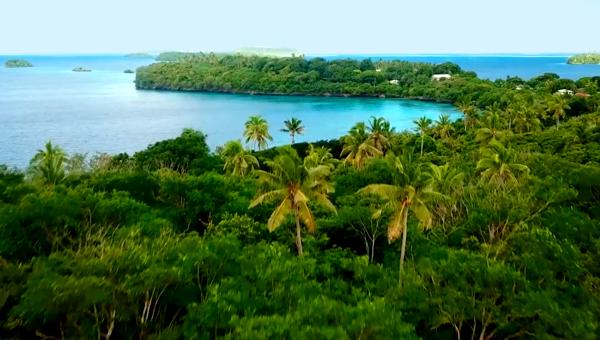 Tonga in kaart