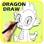 How to Draw Dragon for Kids APK icon