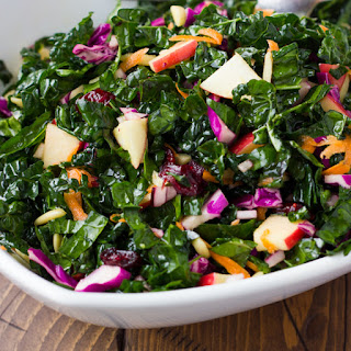 No-Fail Cranberry Kale Salad {Gluten-Free, Dairy-Free}