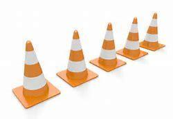 Image result for row of construction cone clip art