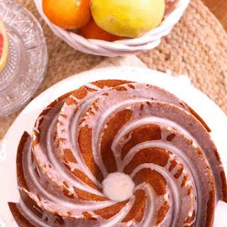 Lemon and Grapefruit Bundt Cake