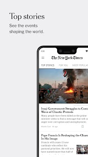 The New York Times Screenshot